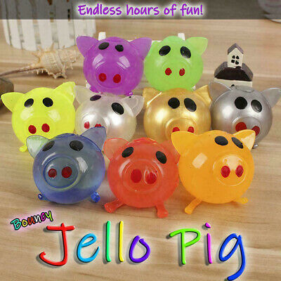 SPLAT BALL PIG SQUISHY SPLATS TOY STRESS RELIEVER GOODY BAG  FAST FREE SHIPPING