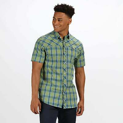 Regatta Honshu IV Short Sleeve Checked Shirt