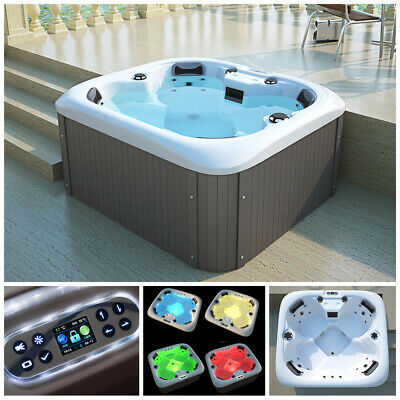 HOME DELUXE Whirlpool Outdoor Aussenwhirlpool Hot Tub Spa Pool Heizung Acryl