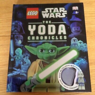 Lego Star Wars book - The Yoda Chronicles 2013 - no minifigure - scratch on back
