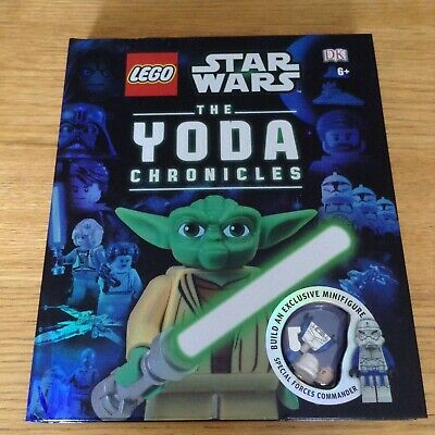 Lego Star Wars book Yoda Chronicles 2013 SW0503 Special Forces Commander minifig