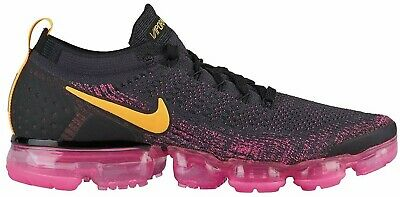 Nike Air Vapormax Flyknit 2 Gridiron Laser Orange Pink Black 942842-008 Size 10