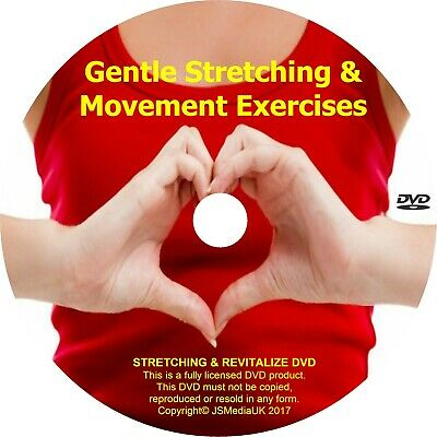 Over 50s Important Daily Gentle Exercise for Fitness & Well Being DVD