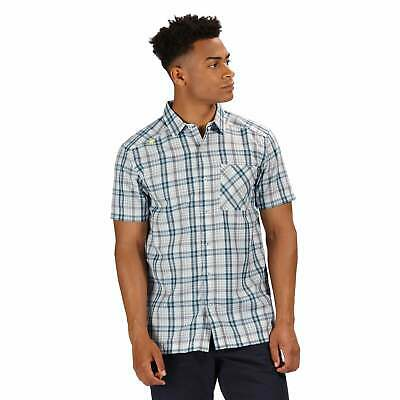 Regatta Mindano IV Short Sleeve Checked Shirt