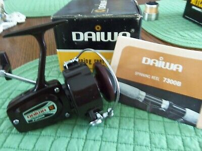 NOS Daiwa Spinning Reel 7300 B with Booklet