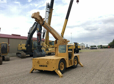Grove IND24 Crane, Hours 349, Year 1981, Capacity 6 Tons