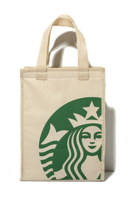 Starbucks Coffee Lunch Tote Bag Insulated NEW