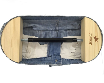 "Pants Stretcher for Jeans with Aerial Aluminium Alloy Buckle Stretch 30"" to 59"""