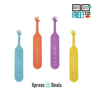 4x Help Me Novelty Bookmarks Page Markers Gift Set Book | UK Seller