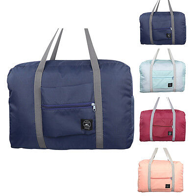 Travel Big Size Foldable Luggage Bag Clothes Storage Carry-On Duffle bag Tote AU