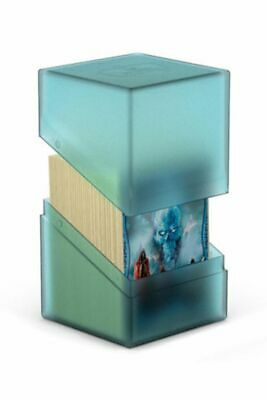 Ultimate Guard - Boulder Deck Case 100+ Malachite - Gaming Card Box for Archive