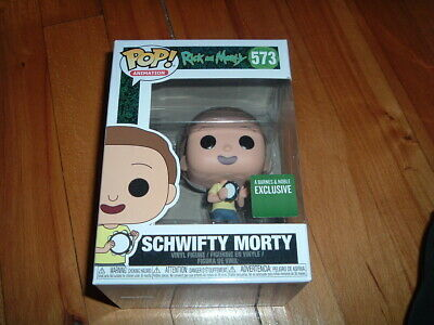 Funko Pop! Schwifty Morty #573~ Barnes & Noble Exclusve~ New~ Mint~ Rick N Morty