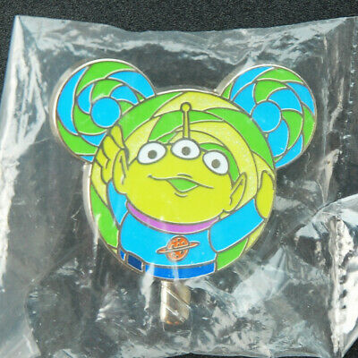 Disney Pin Hong Kong HKDL 2017 Lollipop Mystery Tin Little Green Men Disneyland