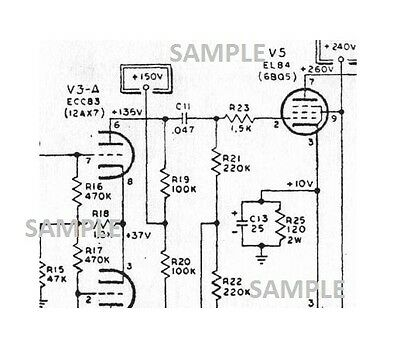 FENDER CHAMP 25-SE Guitar Amplifier Schematic Diagram and Parts List