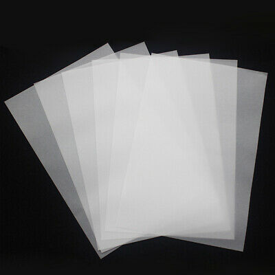 100Pcs Tracing Paper Acid Free Design Transfer Engineering Translucent Copybook