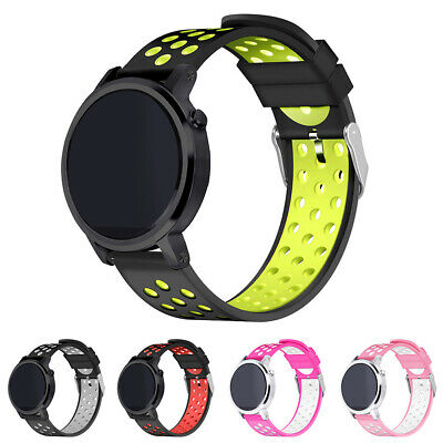 BL_ ITS- 22mm Silicone Watch Band Wrist Strap for Huawei AMAZFIT 2 2S Samsung Ga