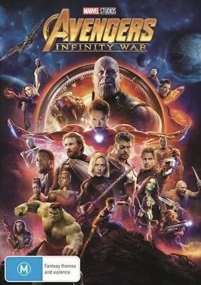 Avengers Infinity War Dvd New & Sealed- Free Postage! Region 4