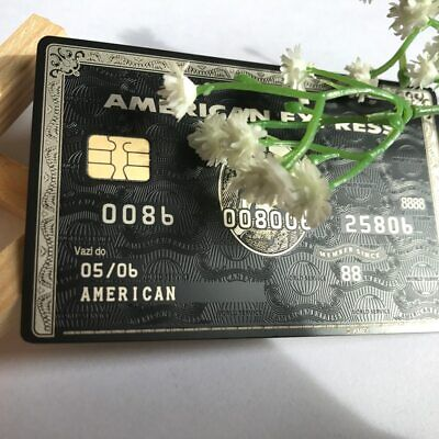 AMERICAN EXPRESS AMEX Centurion Black Card Example Card - $69 99