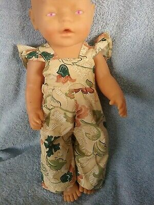 """Handmade Clothes For 17"""" Zaph Baby Born and Interactive  Sister doll"""