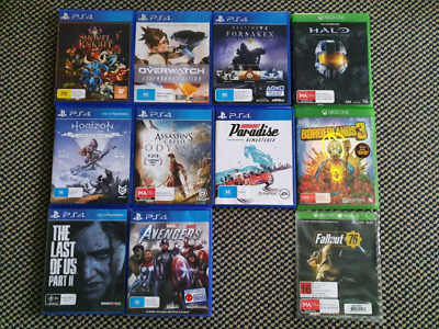 GAMES!!! PS4/Switch/Gamecube/3DS/DS/GBA/Vita, Excellent Used Condition