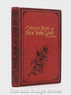 THOMAS DE WITT TALMAGE Night Side of New York Life 1877 vices and temptations
