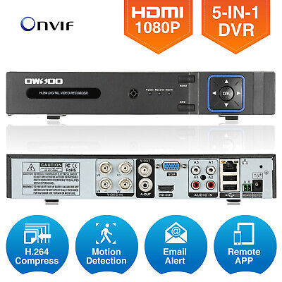 OWSOO XVR 4CH Channel 1080P AHD DVR Support For P2P Android