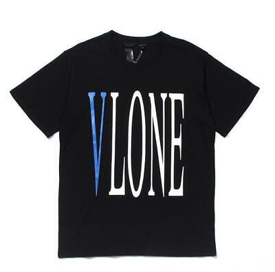 2020 New black VLONE T-shirt Men Fashion Summer cotton Hip-Hop