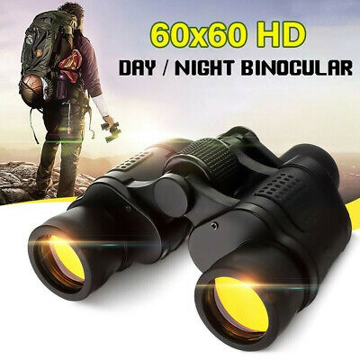 LN_ Day/Night 60x60 Military Zoom Ultra HD Binoculars Optics Hunting Camping C