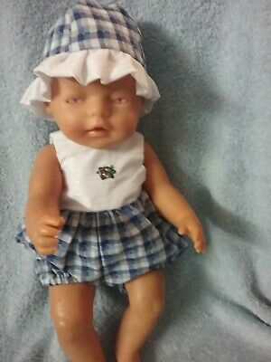 """Handmade Clothes For 17"""" ZAPH  BABY BORN DOLL"""