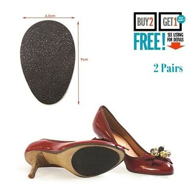 2 Pairs Self-Adhesive Anti-Slip Stick on Shoe Grip Pads Non-slip Sole Protector