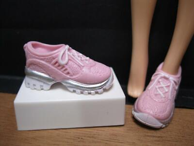 Mattel Barbie Doll Faux Lace Tennis Modern Pink Running Trainer Shoes Sneakers