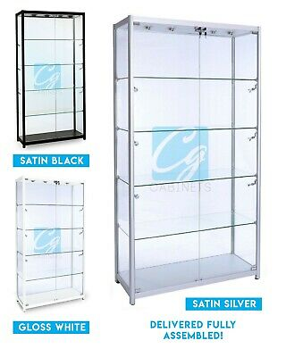 Retail Glass Display Cabinet for Shops, Trophies, Vapes, Jewellery, Collectables