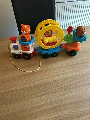 Vtech Toot Toot Animals Train with Cat Hamster and Bone (8)