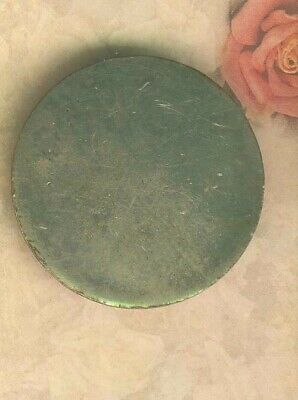 Large Silver Plate on Colonial Copper Button