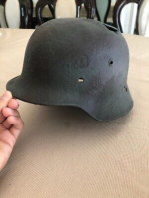 GERMAN ARMY LUFTWAFFE SS WW2 WWII M35 Helmet Liner Band Dated 1937