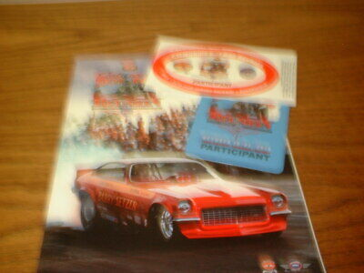 LOT OF 3 NHRA NATIONAL HOT ROD REUNION Vintage Posters-Famoso