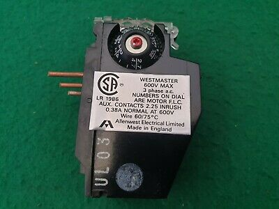 Wesstmaster  Overload Relay 1.8 - 2.7 Amp