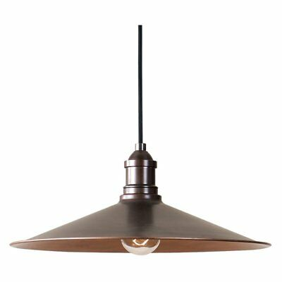 Uttermost Barnstead 22051 Pendant Light, Antique Copper, Medium (10- 20 inches