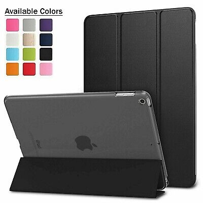 Pu Leather Smart iPad Case Cover Stand For Apple iPad 6th Generation 2018 & Pen