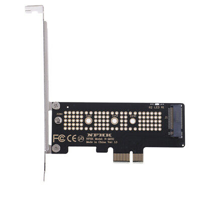 NVMe PCIe x4 x2 M.2 NGFF SSD to PCIe x1 converter card adapter PCIe x1 to M.2 G
