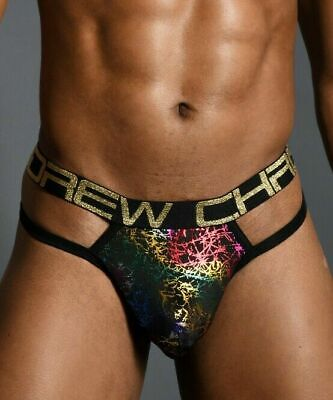 Andrew Christian Tanga Disco Spider Men Thong  Underwear  91174 62