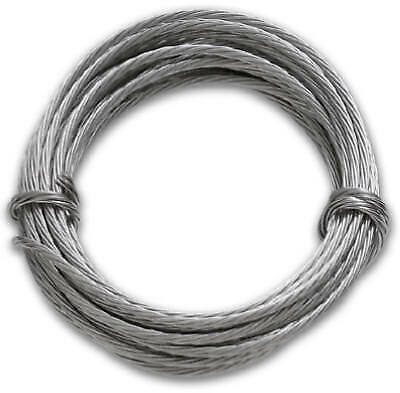 HILLMAN FASTENERS 108-Inch 75-Lb. Stainless Steel Picture Hanging Wire 50115