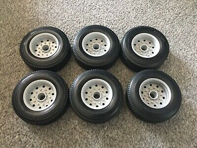 Carson 1/14 Trailer Wheels And Tyres