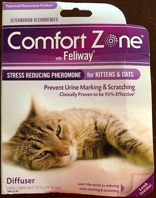 COMFORT ZONE FELIWAY Diffuser Refill, 2 Pack, For Cat