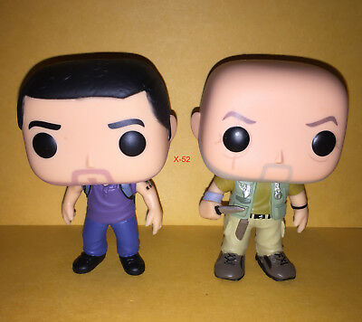 LOST funko POP vinyl FIGURE john LOCKE jack SHEPHARD tv series pops 414 toy 417