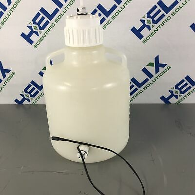 Nalgene 10 liter Heavy Duty Carboy with Quick Connector and Float Switch