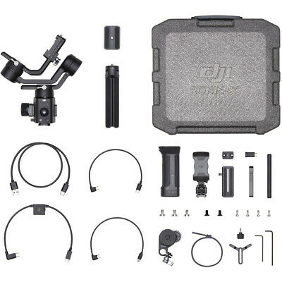 DJI Ronin-SC Single-Handed Stabilizer Gimbal for Mirrorless Cameras(Pro Combo)