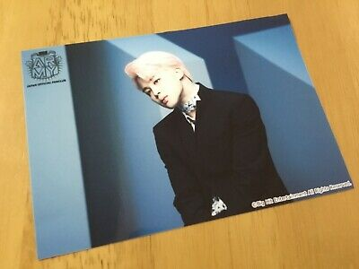 BTS WINGS TOUR JIMIN photocard ARMY Fanclub FC Japan Limited Official Rare