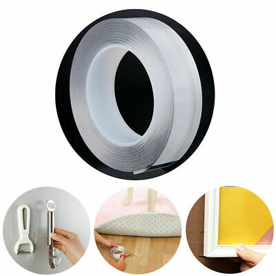 Multifunction Washable Double-Sided GripTape Traceless Adhesive Tape Nano  Reuse
