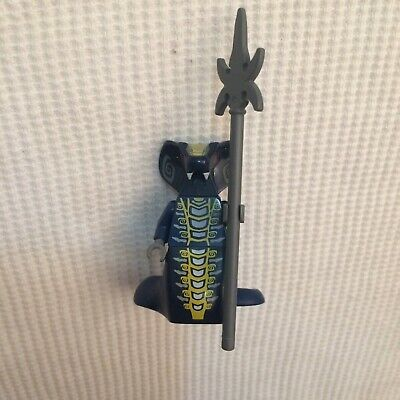 Skales, Ninjago Minifigure, With Weapon, 9444, 9446 - 25% Off Offer! - Rare!